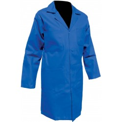 Blouse coton bleu bugatti pressions