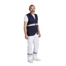 GILET AMBULANCIER SANS MANCHE
