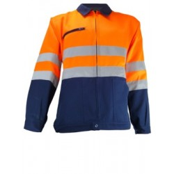BLOUSON HV ORANGE/MARINE 09HVO580